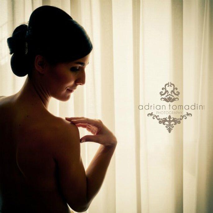 Fotografía Boudoir de novia-Foto: Adrián Tomadín