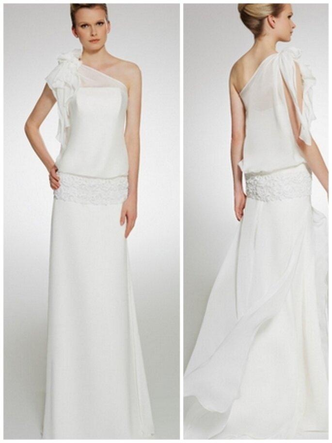 Vestido de novia vintage . Patricia Avedaño