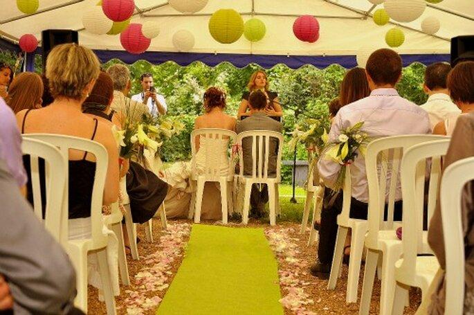 A chaque cérémonie d'engagement, son émotion - Photo : 1 amour, 2 perles