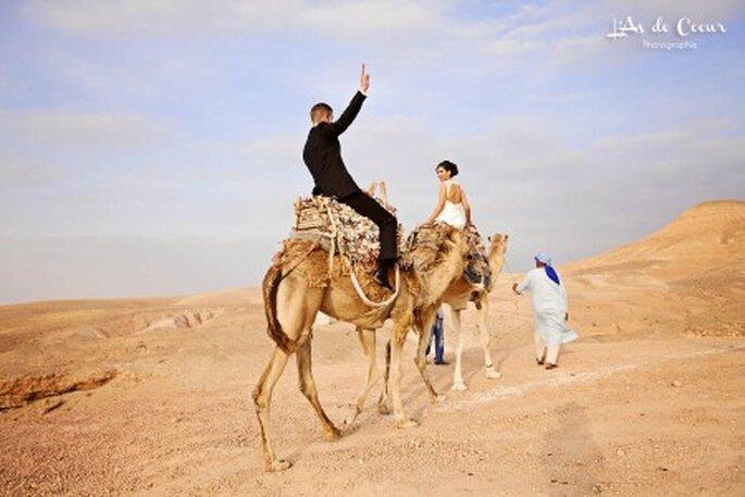 Hochzeit in Marrakesch. Foto: KechEvents