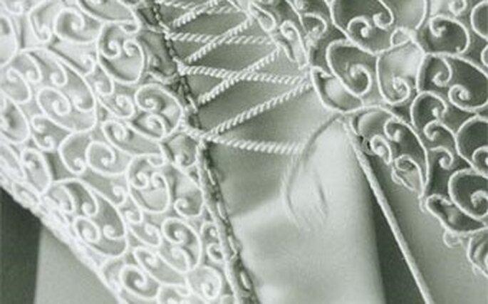 Ad ogni vestito da sposa il suo tessuto