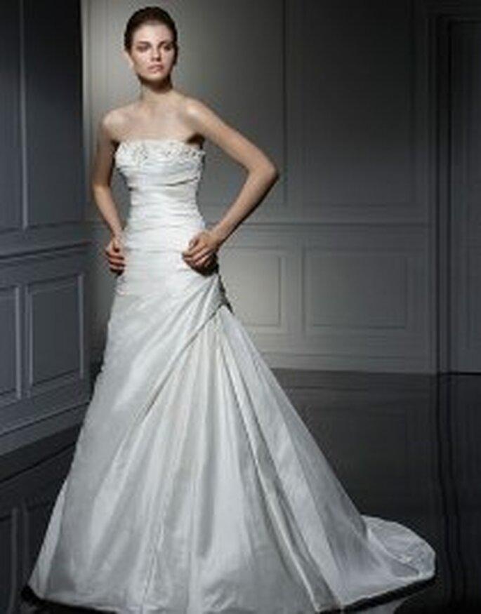 Vestido con palabra de honor - Anjolique 2009