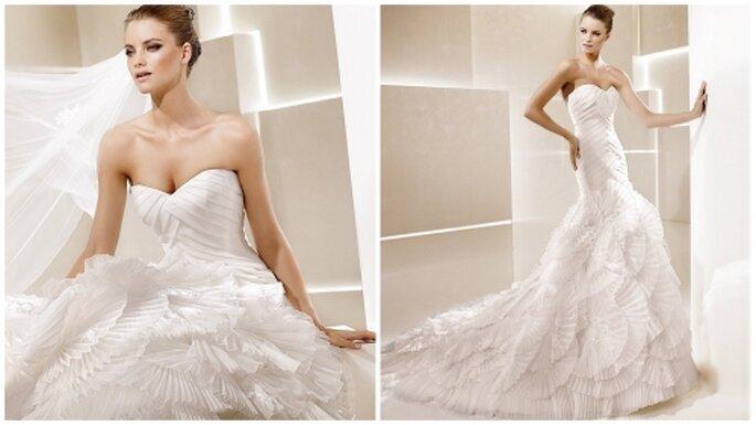 Vestido de novia corte de sirena. La Sposa