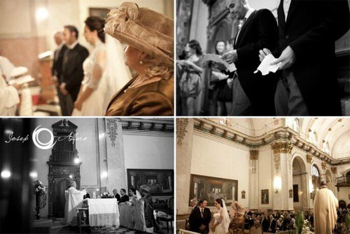 Gehen Sie die Planung Ihrer Hochzeit mit genügend Vorlauf an! Welche 101 Punkte Sie beachten sollten, lesen Sie hier bei Zankyou. Foto: Josep Alfaro.