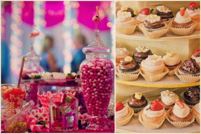 Decorazioni e allegria per il vostro matrimoni - Foto by Amy Atlas/Sweet Little Photographs
