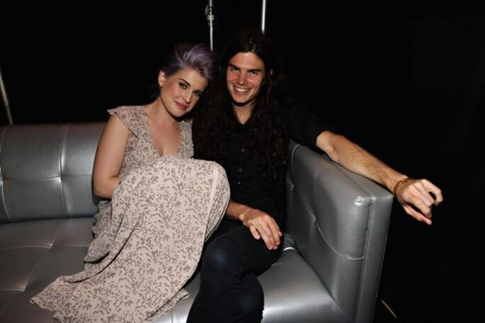 Kelly Osbourne anunció su compromiso con Matthew Mosshart - Foto Hello! Magazine Facebook