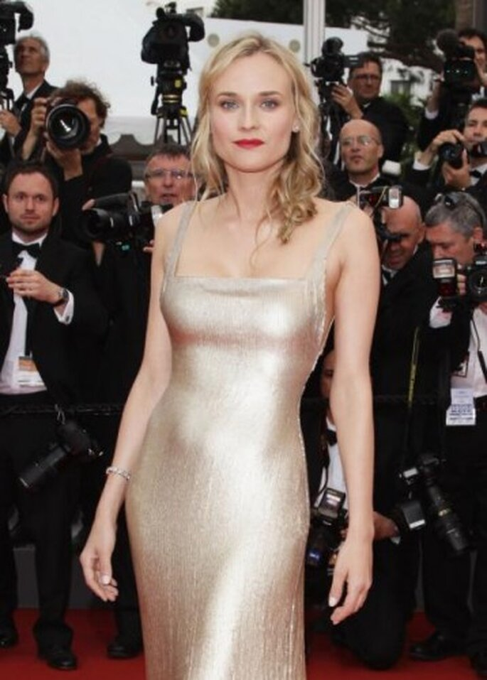 Diane Kruger, Festival de Cannes 2012. Foto de Andreas Rentz, image.net