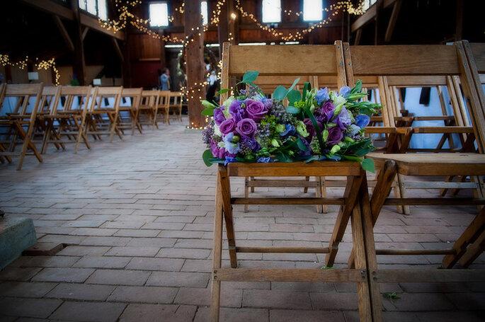Ubicación en la ceremonia. Foto: Joe Foley Photography