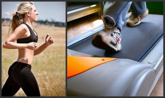 Crea una rutina de ejercicios con objetivos a corto y mediano plazo