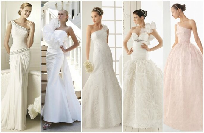 Vestiti da sposa rosa clara 2013  Blog su abiti da sposa Italia
