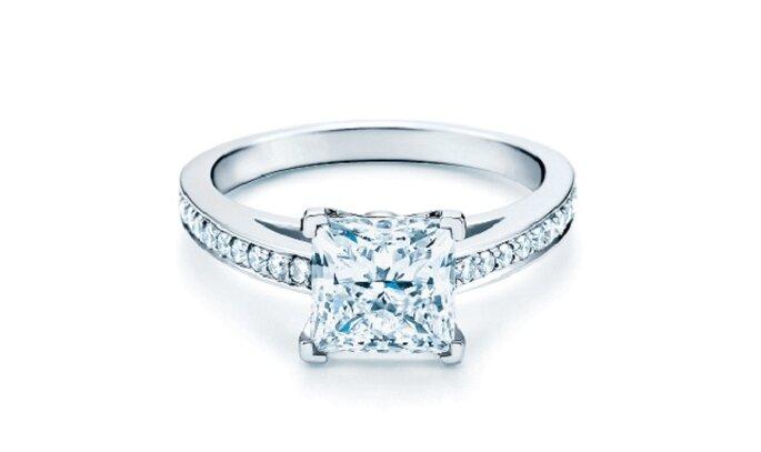 Anello della prestigiosa casa Tiffany  Foto: Tiffany & Co