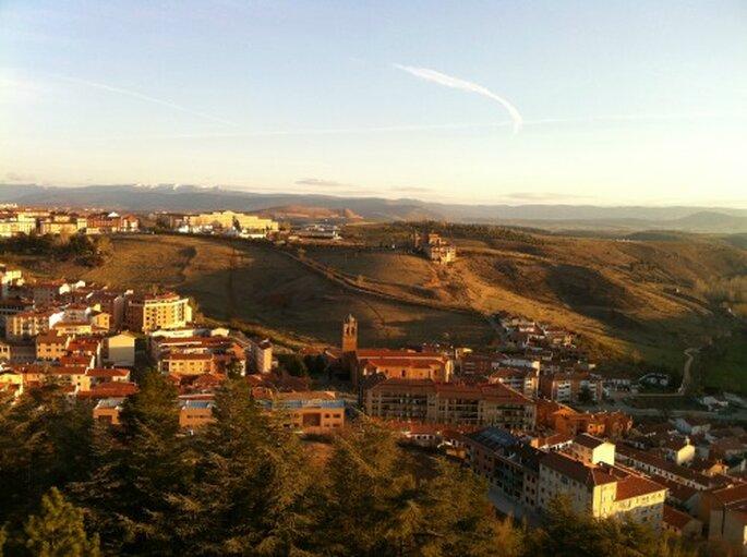 Panoramica del Parador de Soria. Foto via Paradores