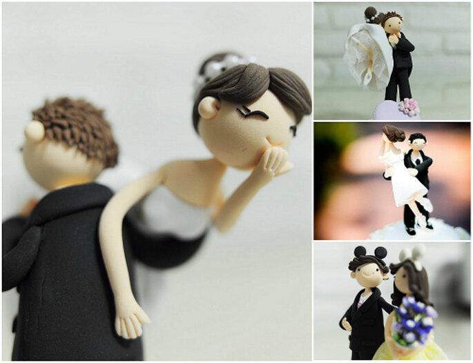 Figuritas personalizadas artesanales, de Anna Crafts vía Etsy