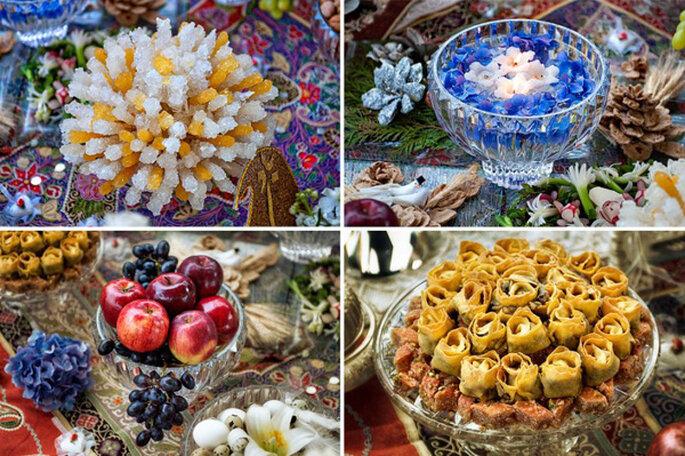 Los banquetes de boda actuales son deliciosos y decorativos. Foto: Emin Kuliyev