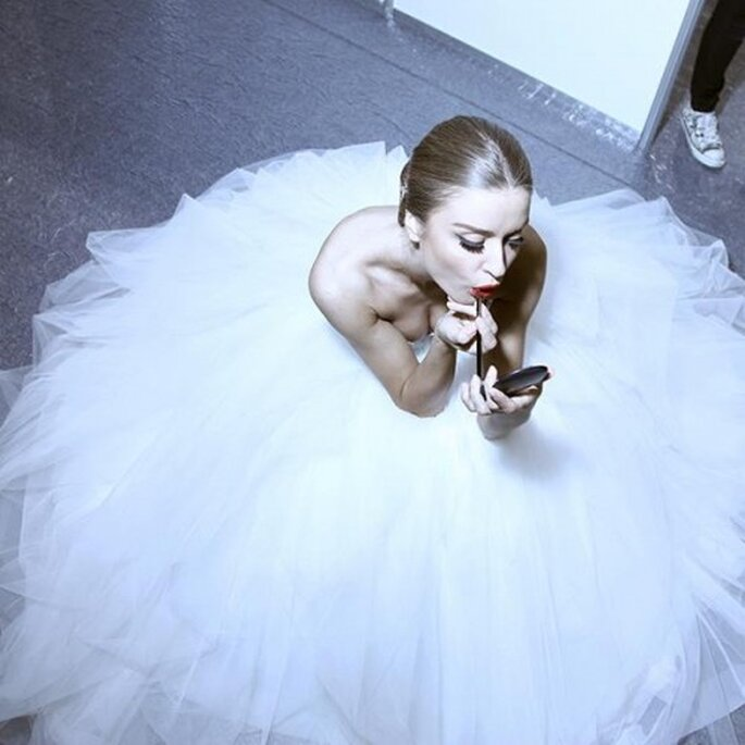 Tendencias en maquillaje de novia 2013 - Foto MAC Cosmetics Facebook