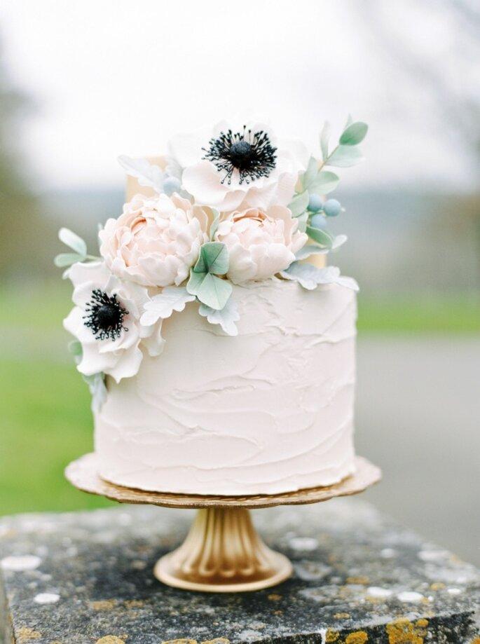 pastel con flores - Paula O'Hara