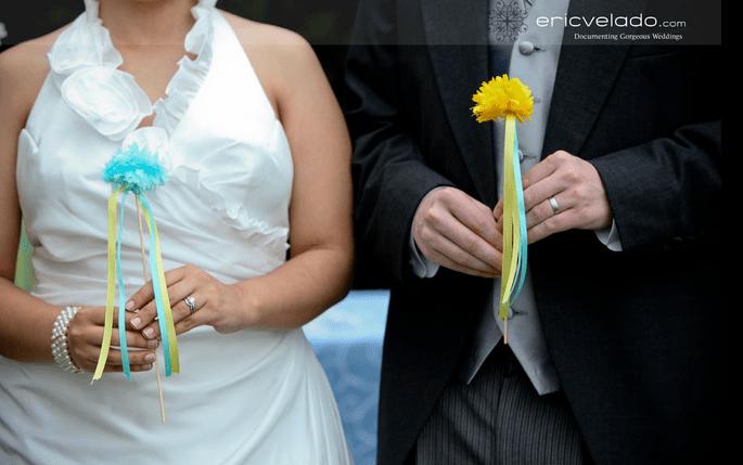 kwiaty na weselu ślubie