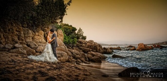 Mariage en Corse : quoi de plus romantique ? - Crédit Photos : Bruno Mayor