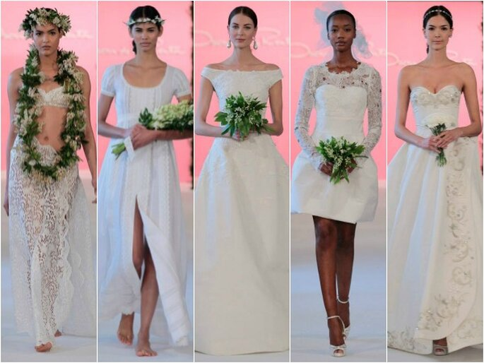Oscar de la Renta, colección de novia 2015. Foto: redes sociales