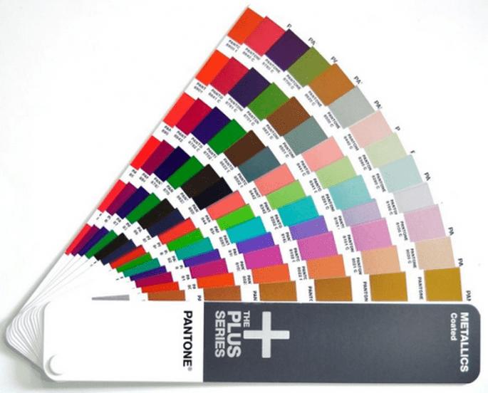 Pantone con todos los colores - Foto Pantone