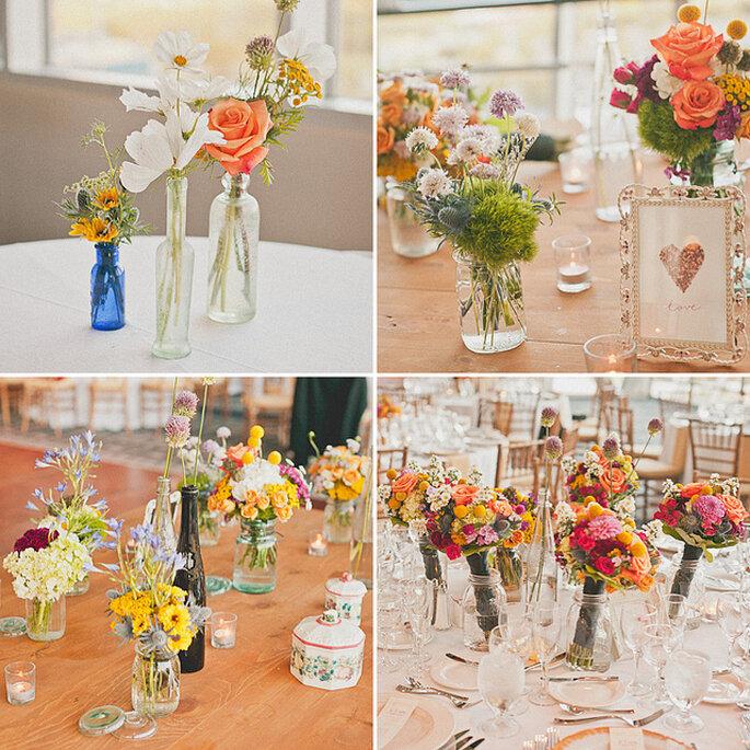 vidrinhos charme e romantismo na decoração do seu casamento