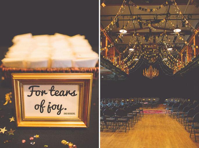 Una boda inspirada en la cultura pop y el estilo vintage - Foto The Nickersons