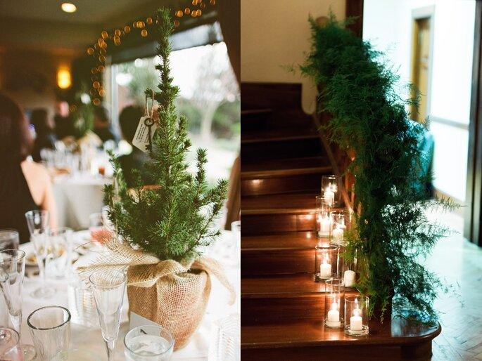 decoración boda de Navidad2