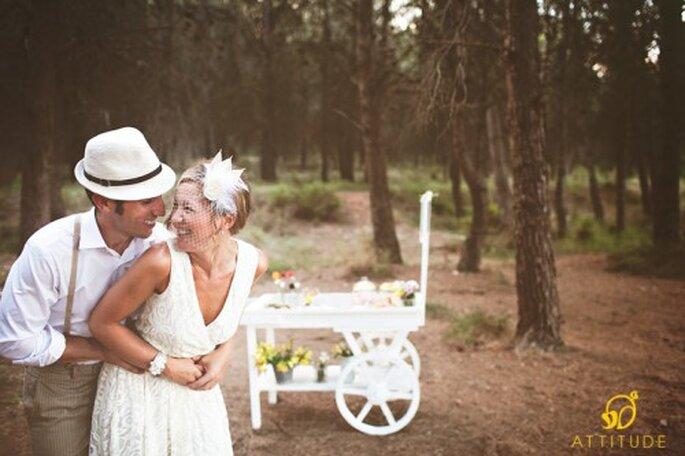 Organiza una boda ecológica. Foto:  Attitude