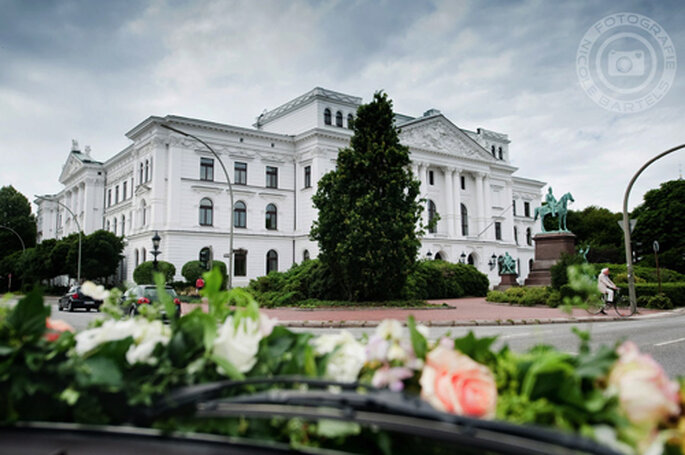 Das Rathaus in Altona - Foto: Nicole Bartels.