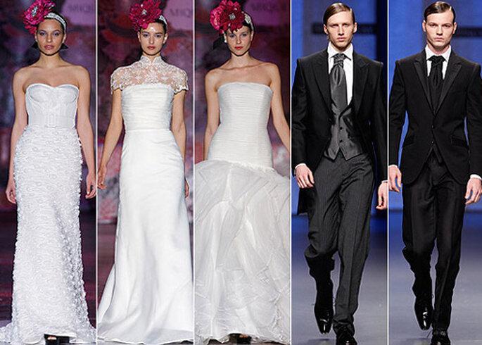 Colecciones de novia y novio de Miquel Suay 2013. Foto: IFEMA