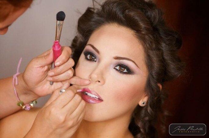 No cambies el estilo de maquillaje antes de la boda - Foto Jesus Padilla
