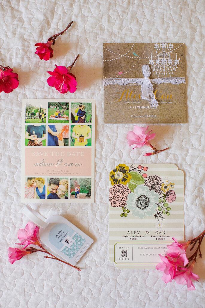 Los 9 mandamientos de las invitaciones de boda perfectas - Marianne Taylor Photography