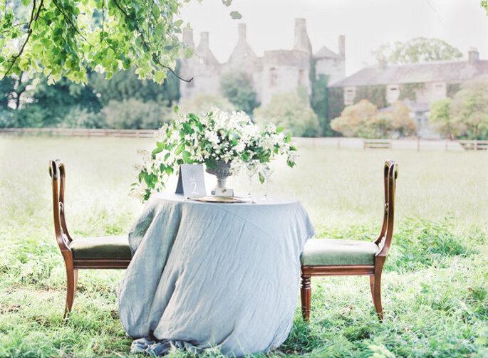 Decoración de boda con tonos polveados y románticos - D'Arcy Benincosa