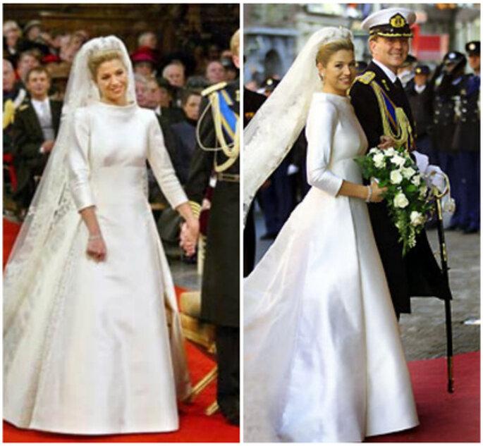 Vestido de novia de Máxima de Holanda