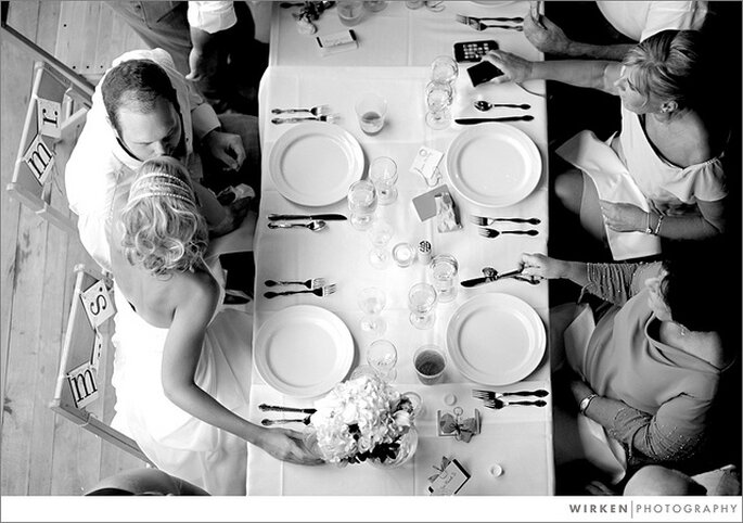 Organización de las mesas. Foto: Wirken Photography