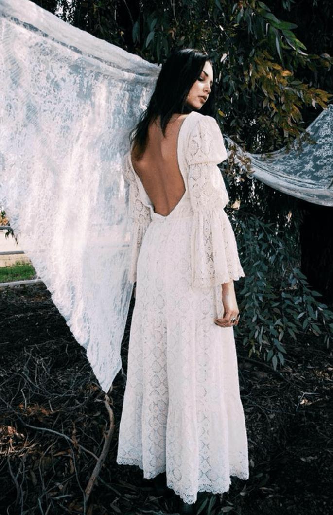 Un look de novia inspirado en un clásico romanticismo - Foto Daughters of Simone