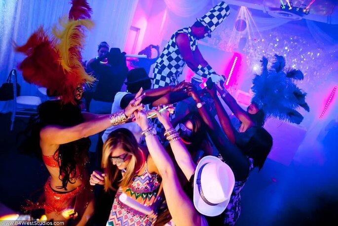 5 ideas para sorprender a tus invitados en la hora loca. Foto- 84 West Studios