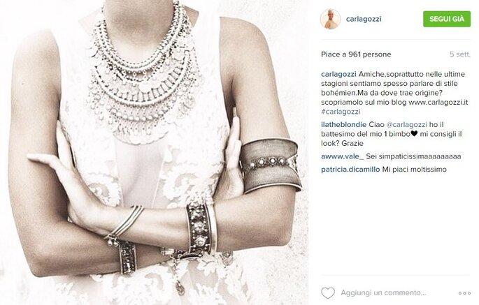 Foto via Instagram.com/carlagozzi