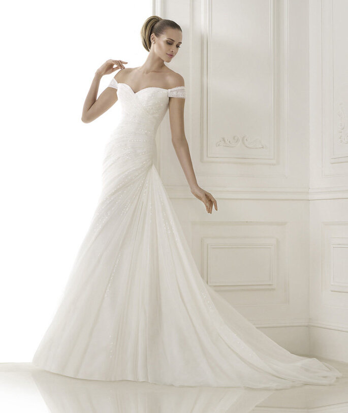 The Woman in White - Modello Bernice di Pronovias