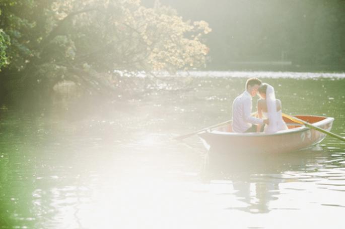 Los juegos con la luz se pueden capitalizar muy bien en un lago. Foto de Nadia Meli