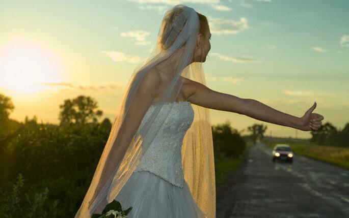 Fotos originales para el album de bodas