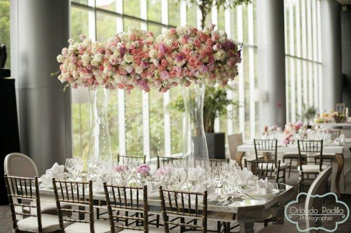Real Wedding: La decoración más linda de la historia - Foto Orlando Padilla