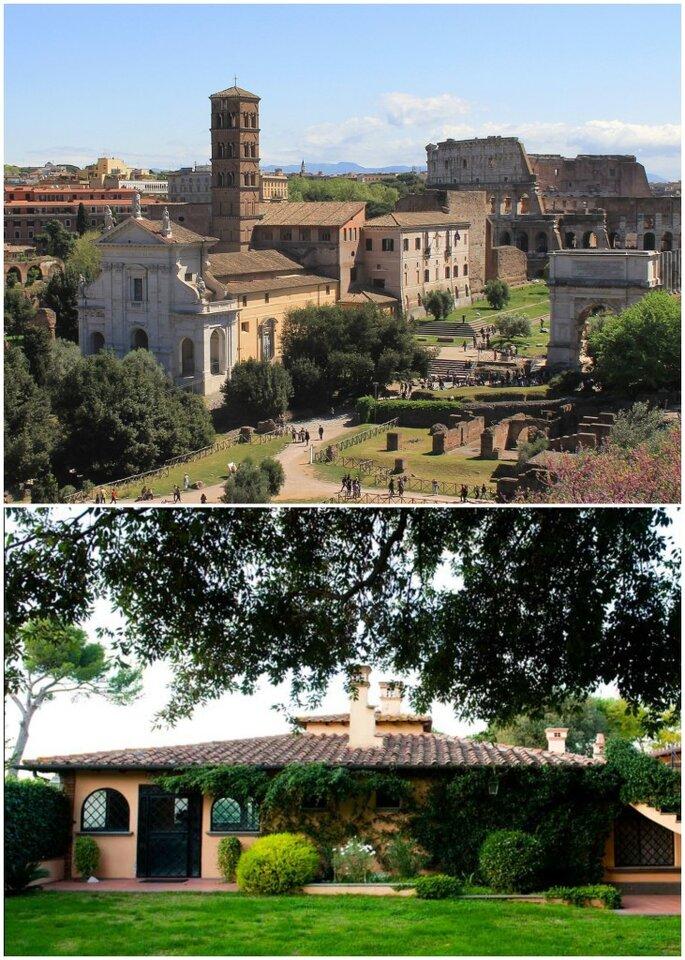 Chiesa di Santa Francesca Romana e il Clivo dei Cavalieri