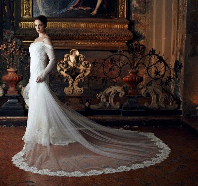 Alberta Ferretti Forever 2013 Modello Avorio. Foto: Ufficio Stampa Aeffe S.p.A.