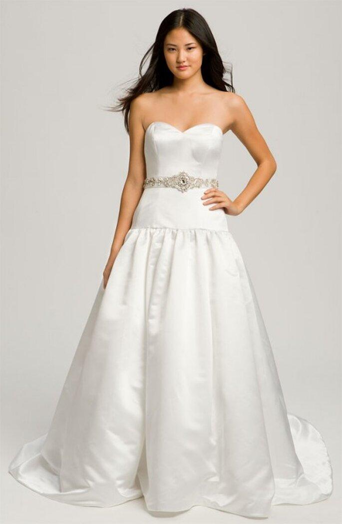 Cinturon para vestido de novia elegante - Foto Nordstrom