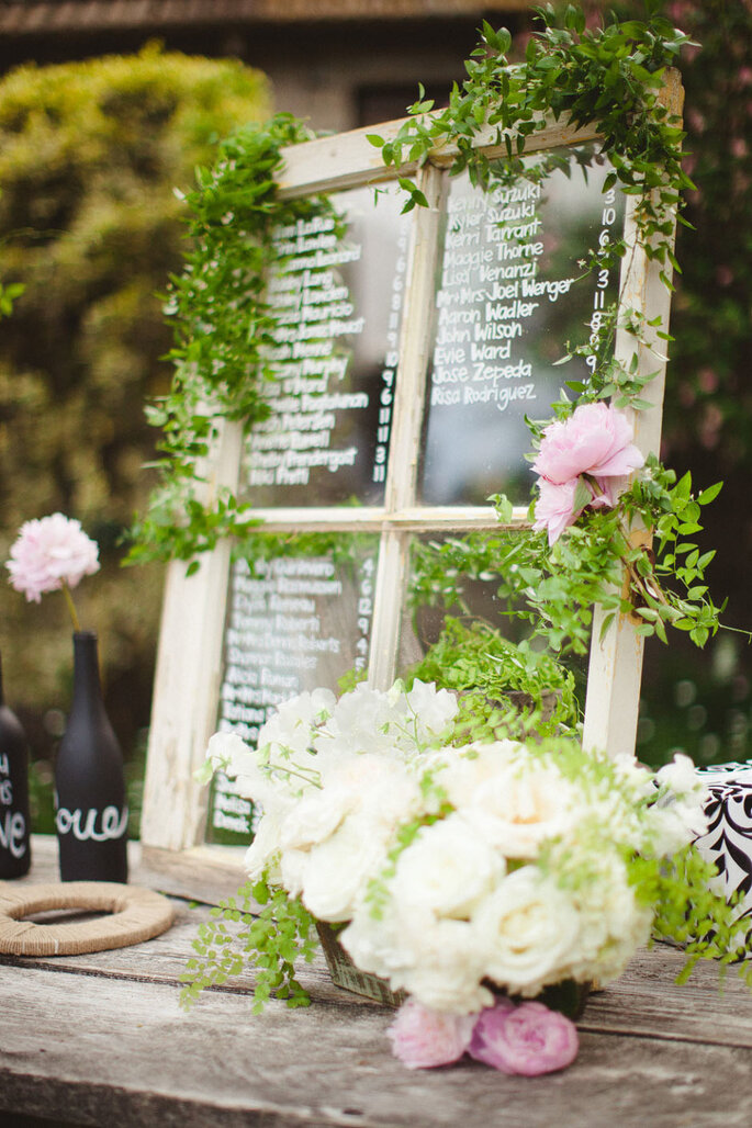 Ideas originales en seating charts - Sposto Photography