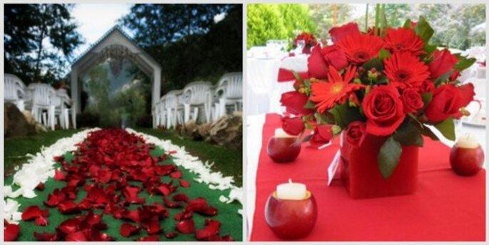 Las haciendas y alrededores de la ciudad son ideales para bodas al aire libre. Fotos: Ambrosia Eventos y Servicios Villa de Leyva