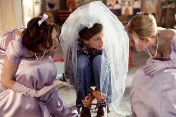 Photo :Capture d'écran Youtube -  Just Married (Ou presque)