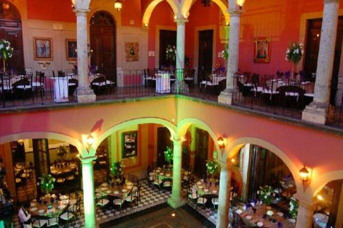 Recepción de boda en Casa Pedro Loza