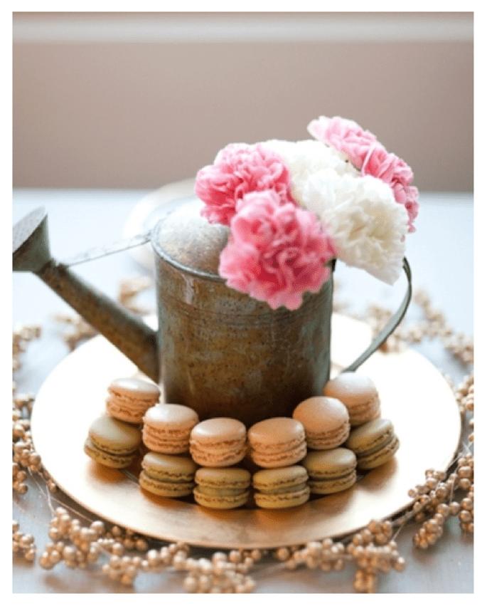 Macarons para el postre de tu boda - Foto Abbey Hepner Photography